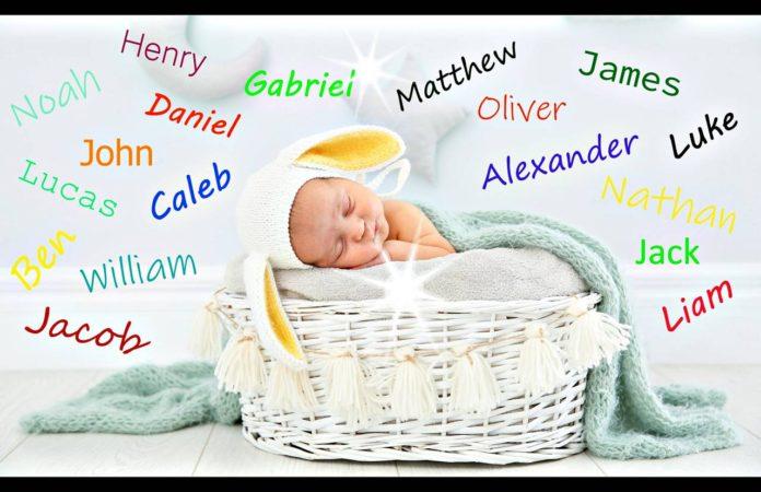 nombres de niños