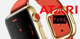 pong iwatch