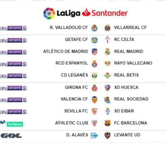 atletico de madrid real madrid horario