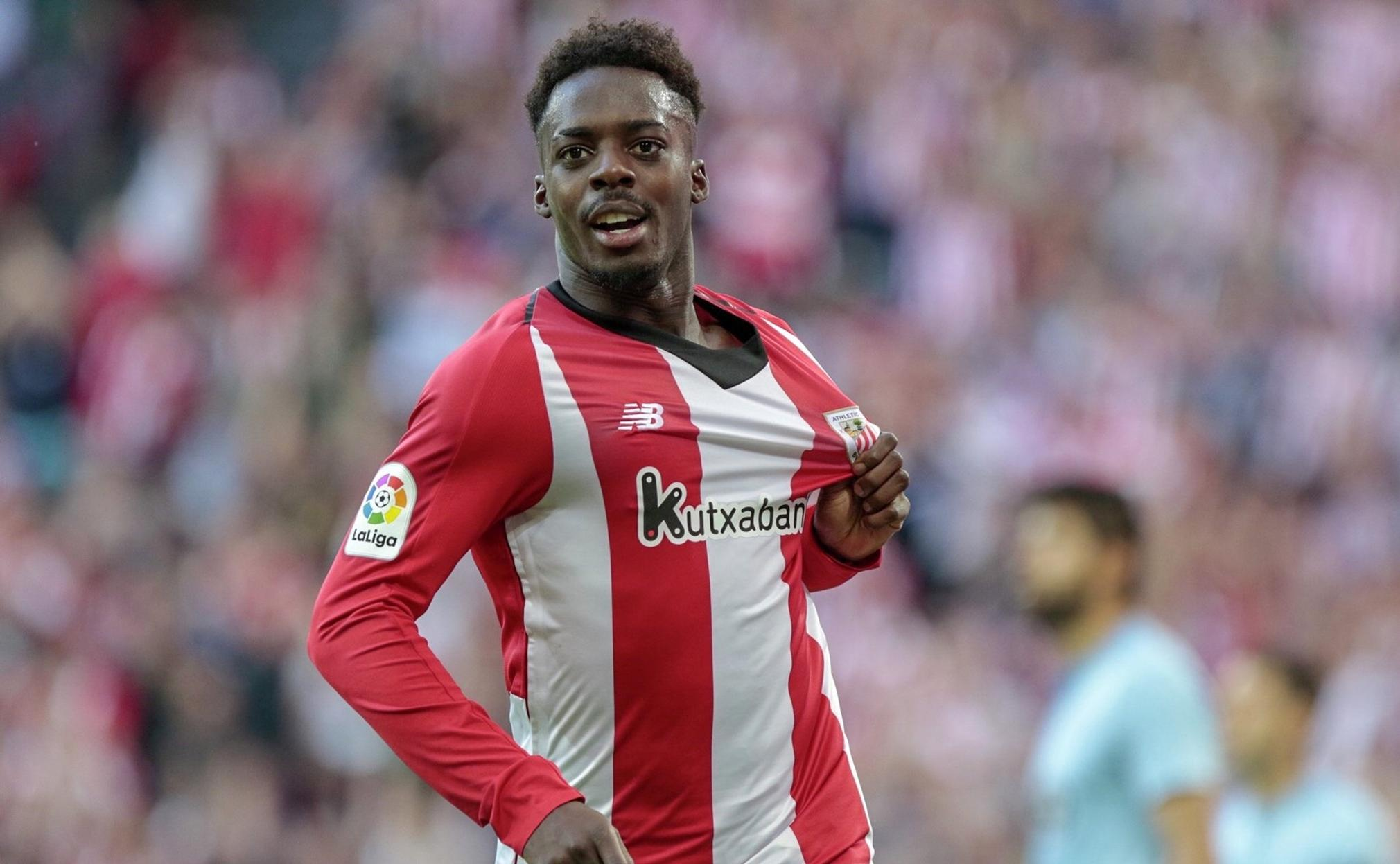 Iñaki Williams, delantero del Athletic de Bilbao, amplia su contrato hasta el 2028