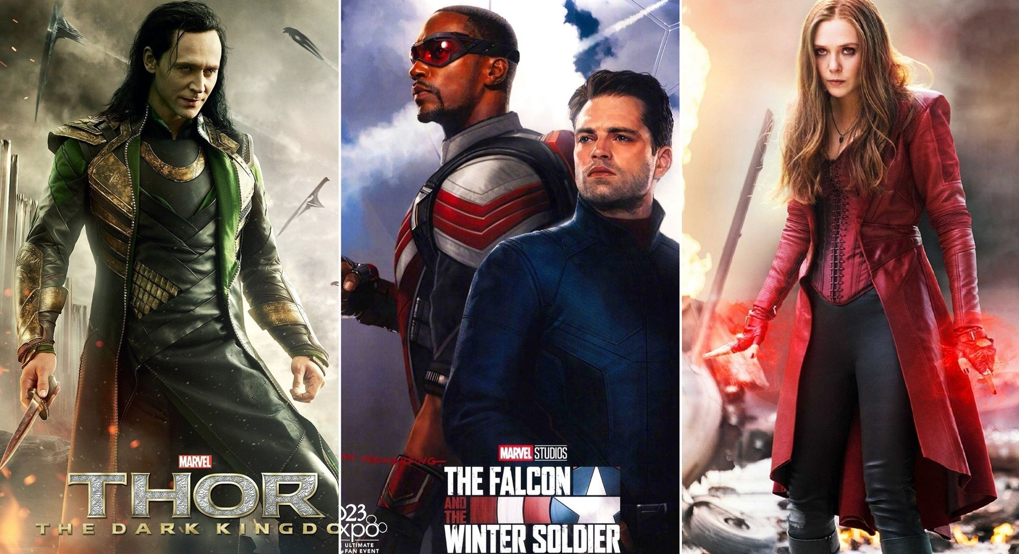 Marvel Studios adelanta el primer vistazo de la series 'Falcon and the Winter Soldier', 'Wandavision' y 'Loki'
