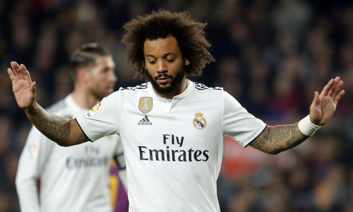 Marcelo del Real Madrid