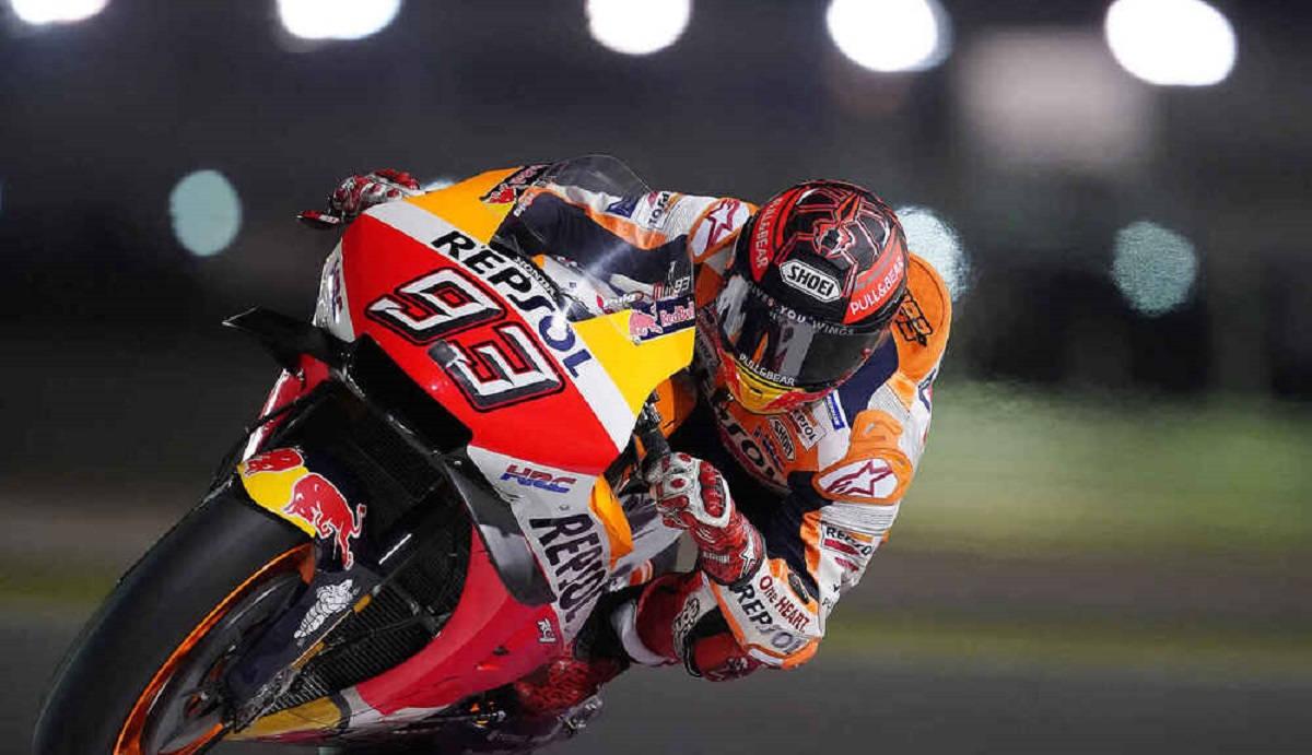 Marc Márquez incluido en la lista provisional de pilotos para el inicio del mundial de MotoGP 2021