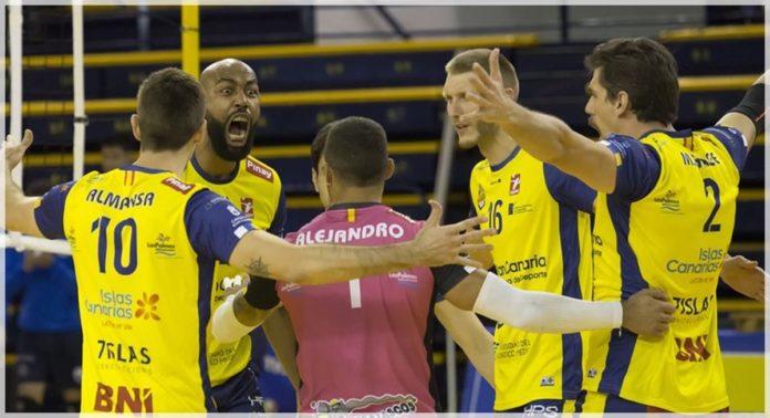 El Club Voleibol Guaguas a las puertas de conseguir el título en la competición liguera