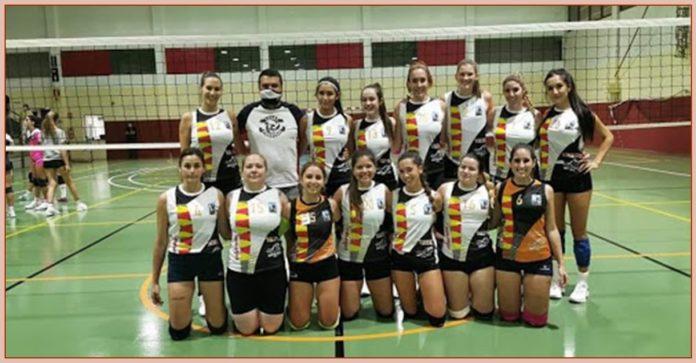 Las senior del Voleibol Finestrat lucharán por el título de campeonas autonómicas