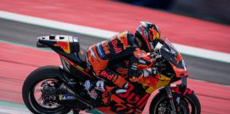Dani Pedrosa y KTM superados por una Superbikes durante los tres días de prueba en Motorland Aragón
