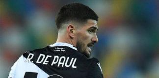 El Atlético de Madrid también tendría en su agenda al centrocampista Rodrigo De Paul