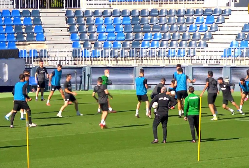 El Málaga CF publica la lista de convocados contra el RCD Espanyol para la jornada 37
