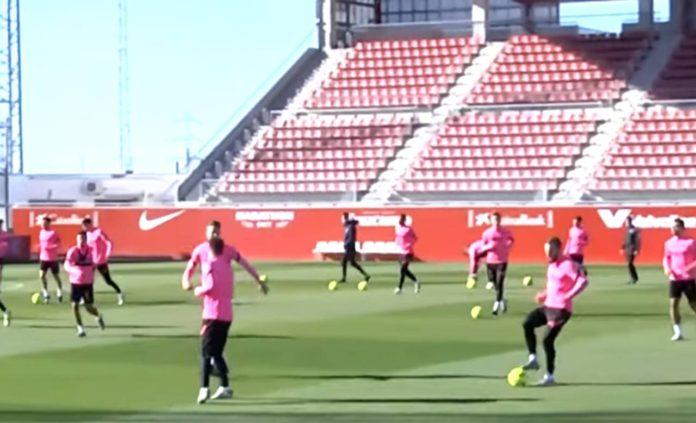 Jules Koundé e Iván Rakitic son duda para jugar contra el Real Madrid