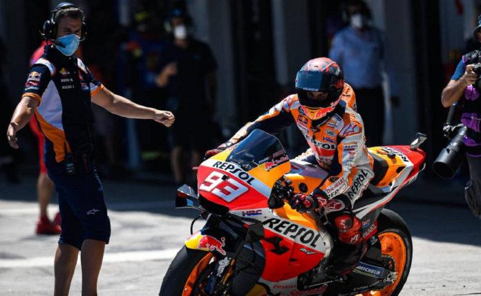 Mientras Marc Márquez es optimista, otros pilotos muestran su preocupación por la doble cita en Austria