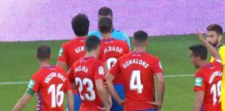 Roberto Soldado tres partidos de sanción, Lopetegui, Oier Sanjurjo, Nabil Fekir y Aisa Mandi, uno