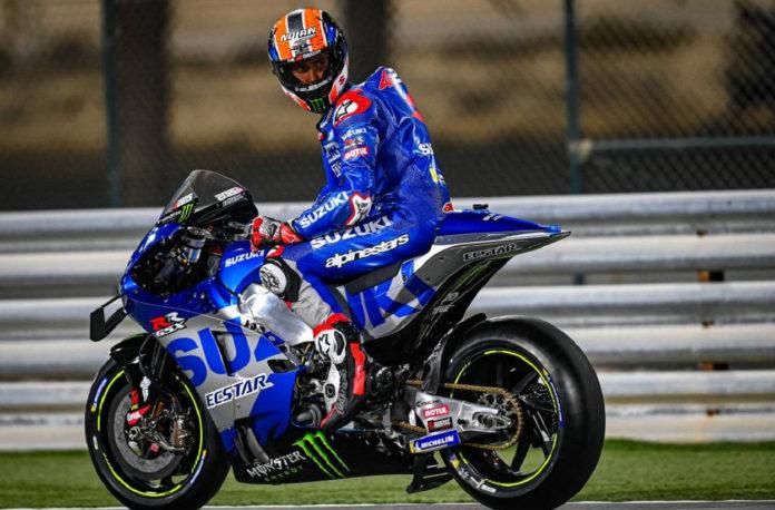 Tras ser operado del accidente en bicicleta, Àlex Rins podría regresar en el GP de Alemania