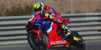 Álvaro Bautista cree que Honda no subirá al podio del Mundial de Superbikes en este 2021