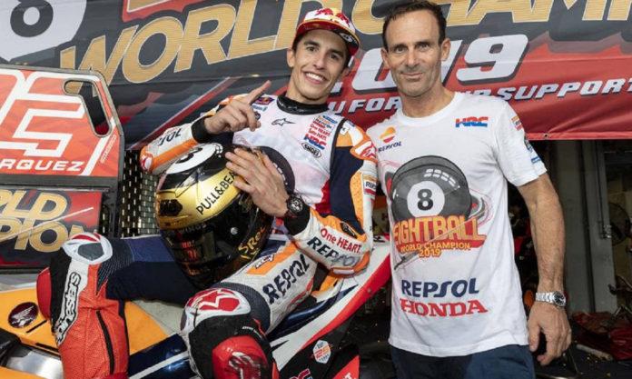 El jefe del equipo Honda, Alberto Puig, cree que algunos habían 'olvidado' quién es Marc Márquez