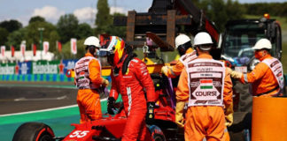 Carlos Sainz revela que se planteó ayudar a Fernando Alonso durante el pasado GP de Hungría