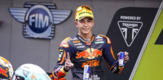 La escudería KTM confirma el ascenso del piloto Raúl Fernández a MotoGP para 2022