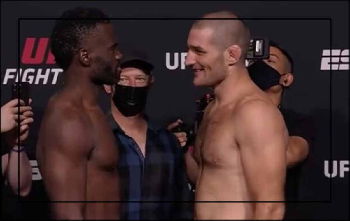 Sean Strickland se impone a Uriah Hall en UFC Las Vegas 33